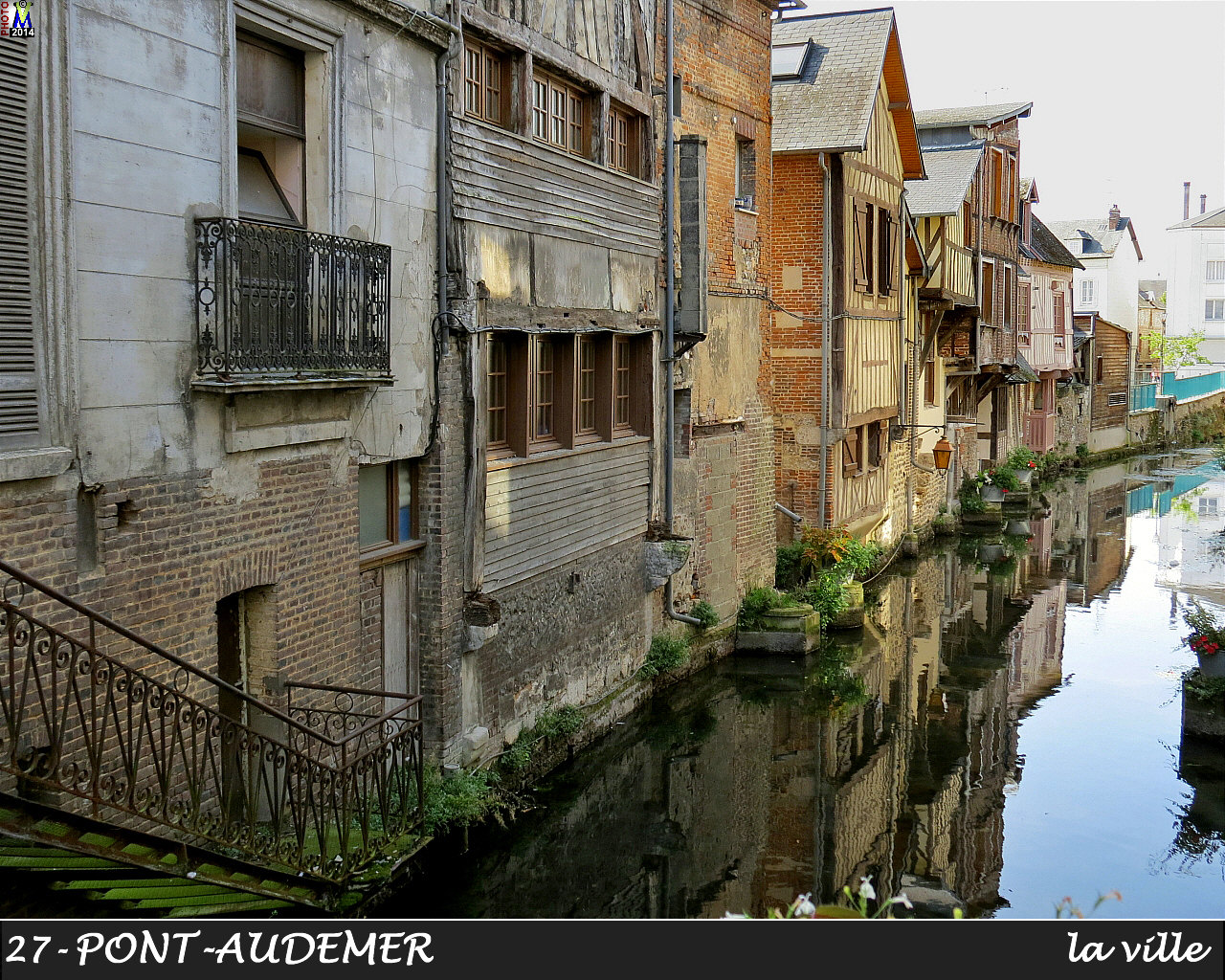 eure photos de la commune de pont audemer