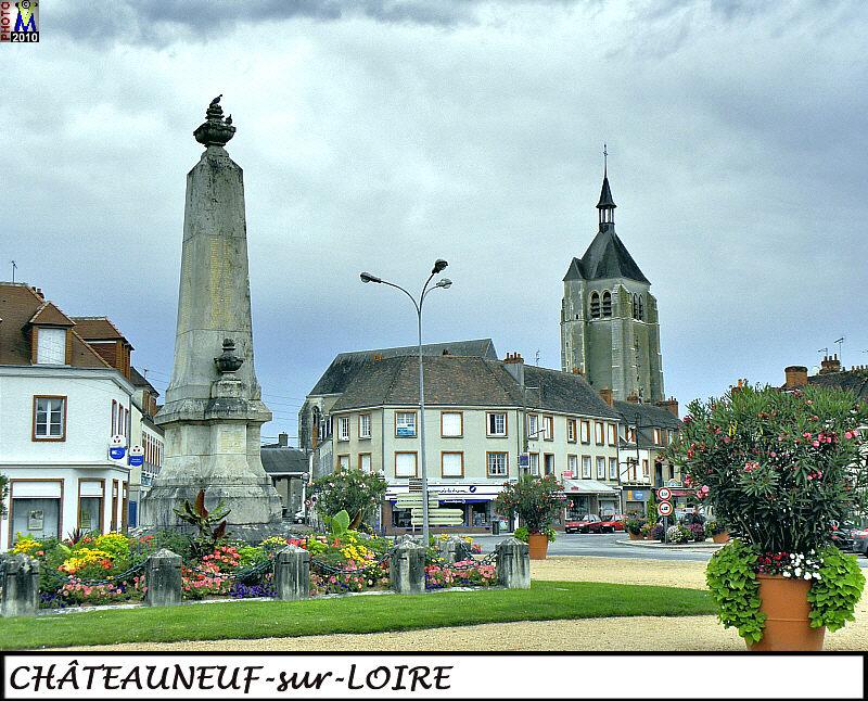 Loiret photos de la commune de ch teauneuf sur loire - Piscine de chateauneuf sur loire ...