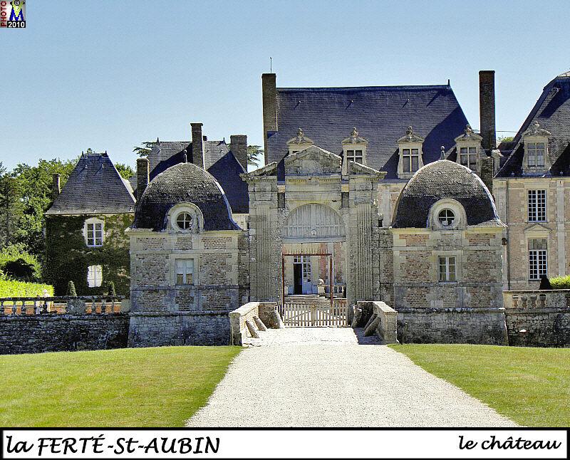 Loiret photos de la commune de la fert saint aubin - Office de tourisme la ferte saint aubin ...