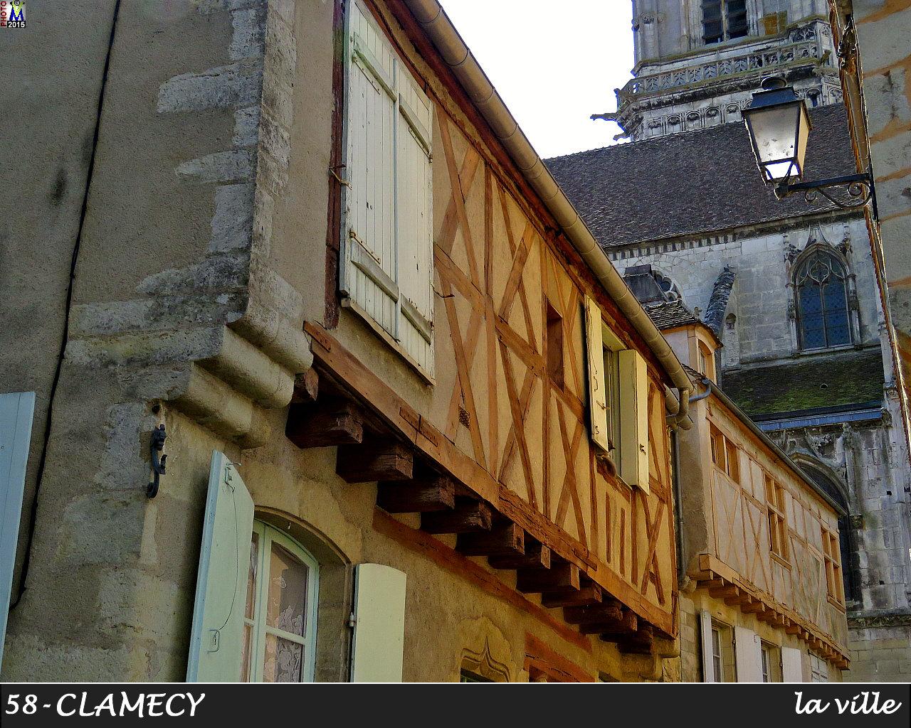 NIEVRE - Photos de la commune de : CLAMECY