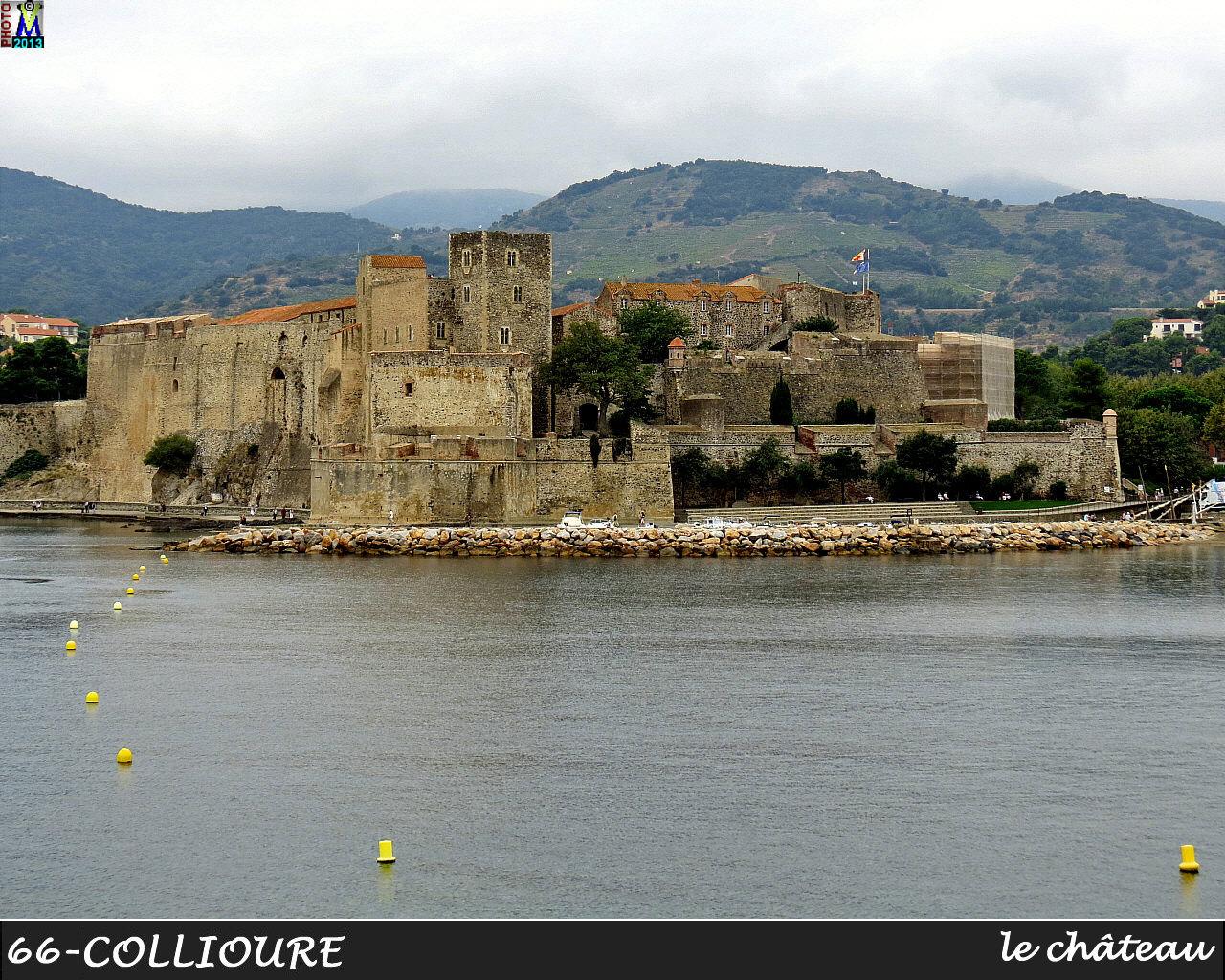 Pyrenees orientales photos de la commune de collioure - Chateau de collioure ...