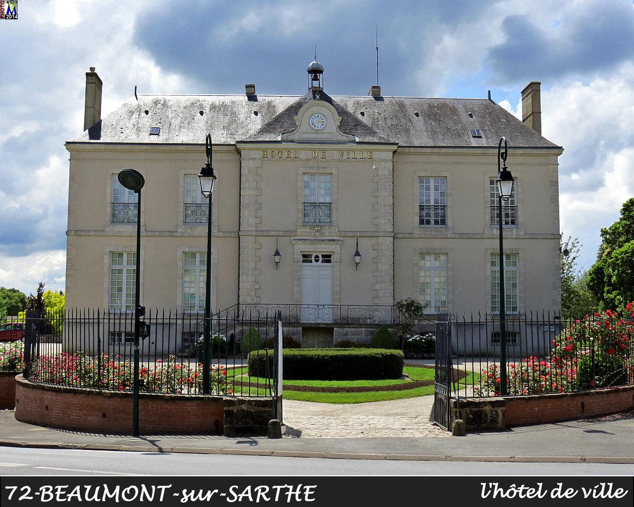 SARTHE - Photos de la commune de Beaumont-sur-Sarthe